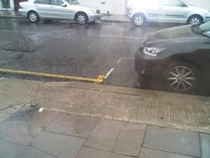 Rain in London 300x225 Rain in London