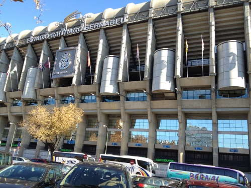 Santiago Bernabeu Madrid