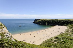 barafundle bay wales 300x199 BEST BEACHES IN THE UK