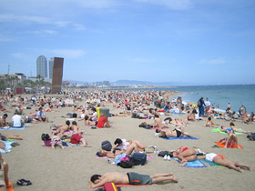 barcelona beaches SPAIN BEST BEACHES TRAVEL GUIDE