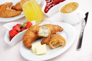 French croissant breakfast 300x200 TRAVEL GUIDE TO FRENCH FOOD