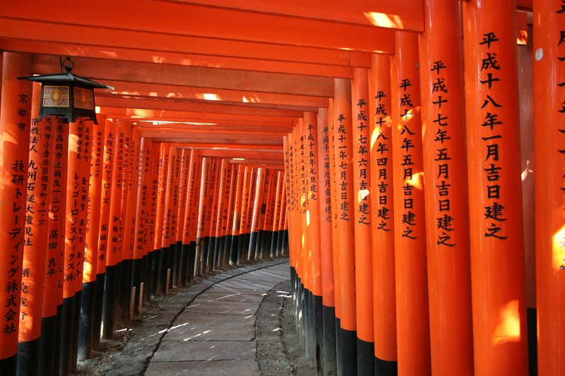 Fushimi Inari Kyoto through the lens