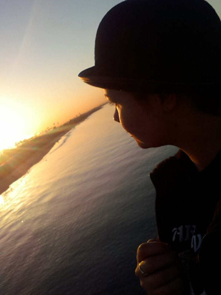 Sunrise at Belmont Shore Long Beach Kealie Mardell on life in California