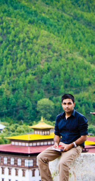 karthik3 An Indian passport holder decides to get away from his normal routine life