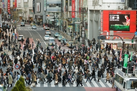 tokyo crossing Tokyo:  Top 5 things to do