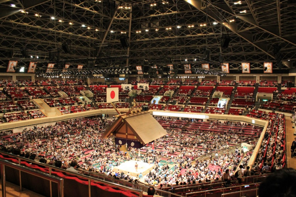 tokyo sumo 1024x682 Tokyo:  Top 5 things to do