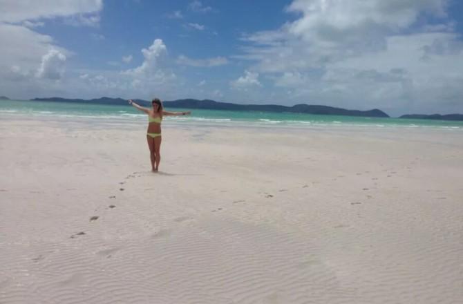 Chiara on ten months around the world