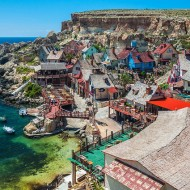 Head to Popeye Village in Malta